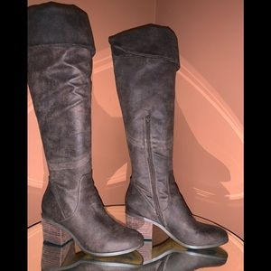 Report brand non leather tall boots.